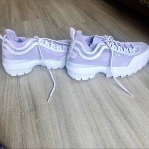 FILA UO Exclusive Disruptor 2 Sock Mesh Sneaker